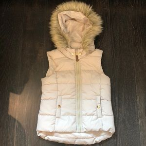NEW Girls puffer vest